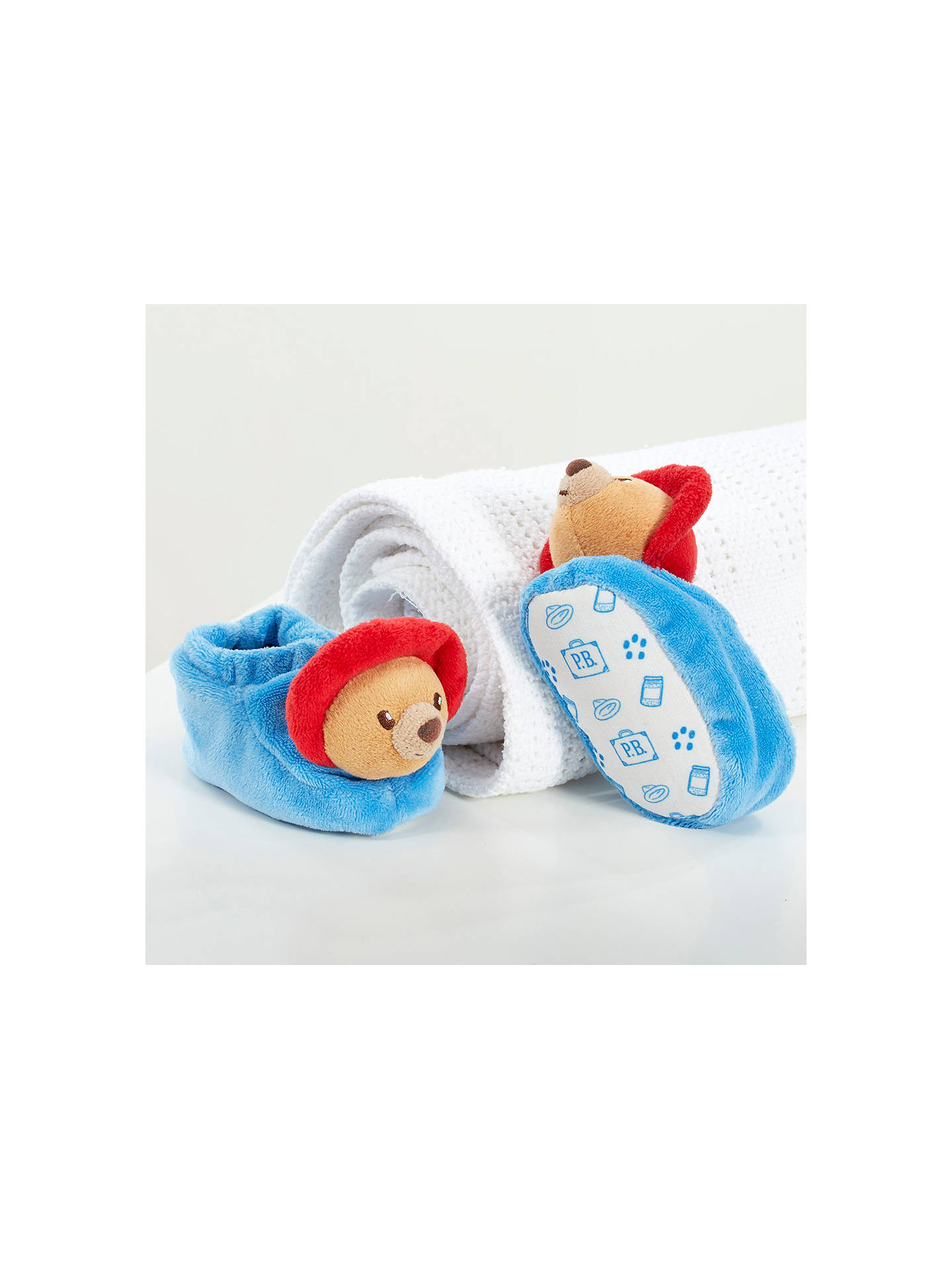 BuyRainbow Designs Paddington Baby Booties Online at johnlewis.com