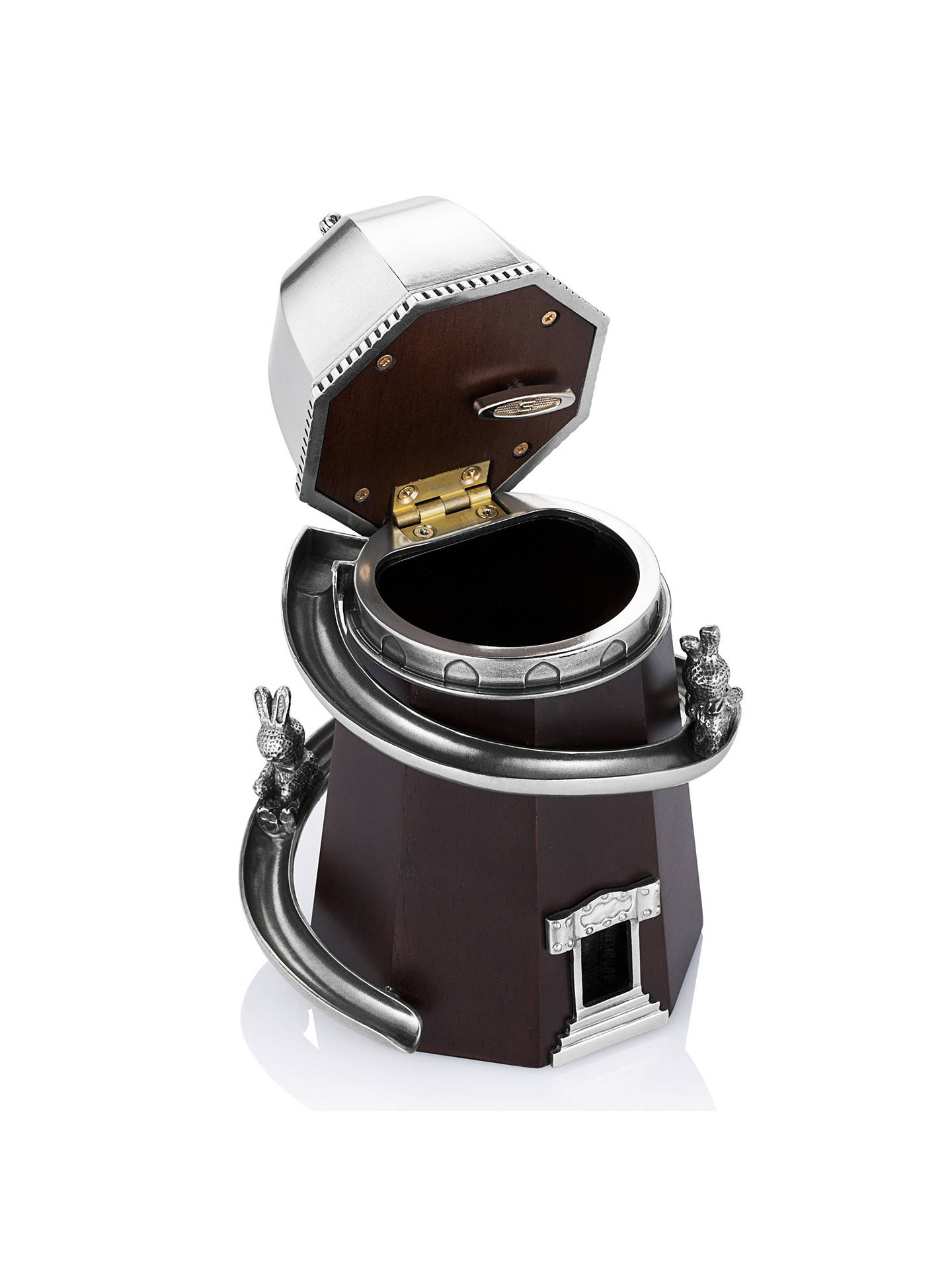 BuyRoyal Selangor Helter Skelter Music Box, Silver Online at johnlewis.com