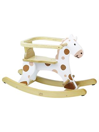Vilac Wooden My First White Rocking Horse