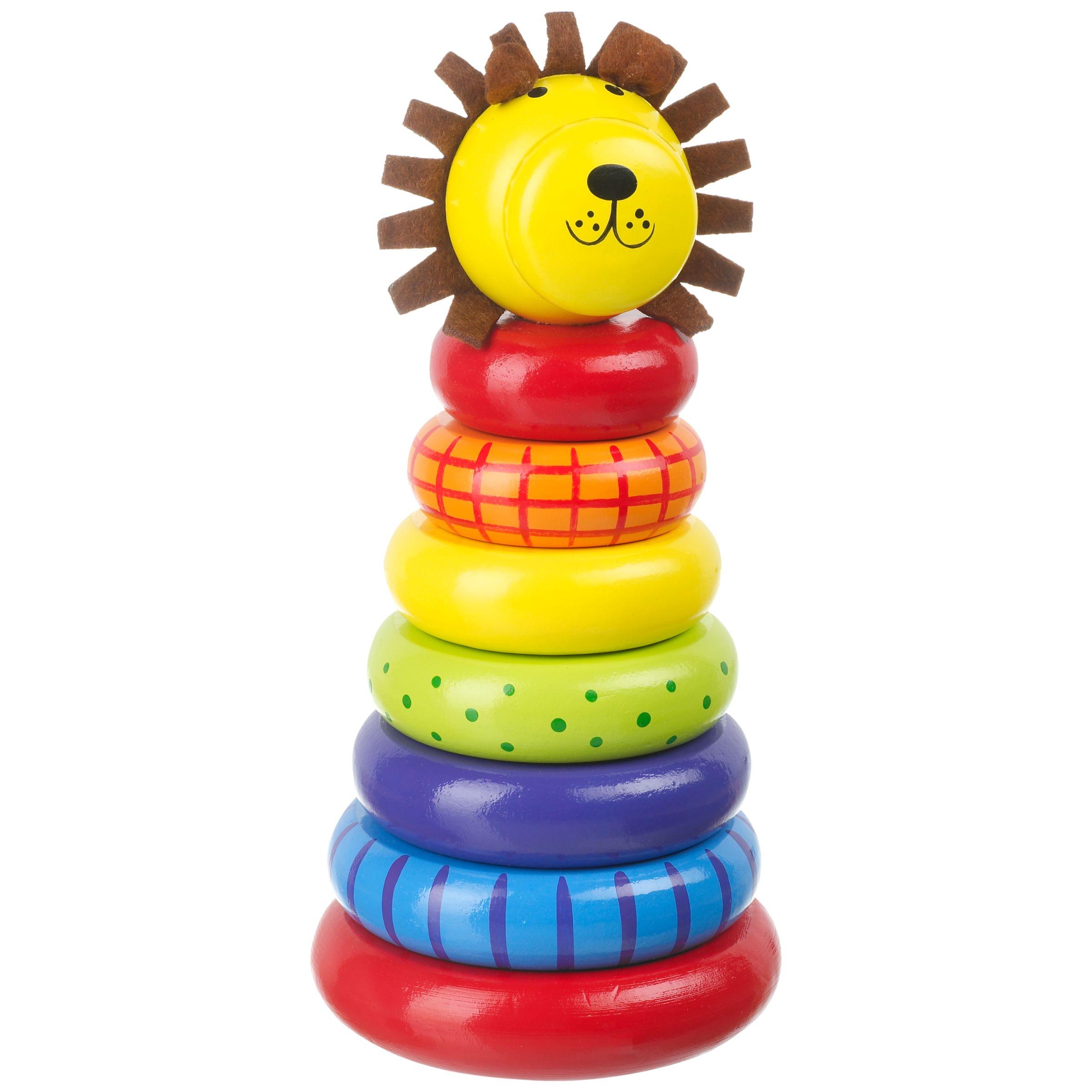 Orange Tree Orange Tree Toys Lion Stacking Rings