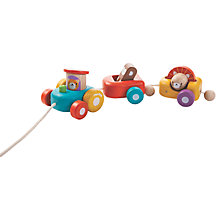 Buy Plan Toys Baby Happy Engine, Multi Online at johnlewis.com