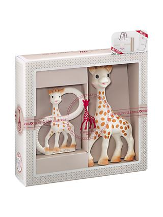 Sophie La Giraffe Sophisticated Teether Set