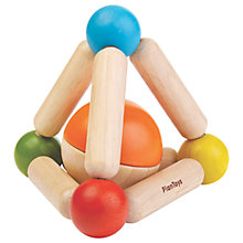 Buy Plan Toys Baby Triangle Clutching Toy, Multi Online at johnlewis.com