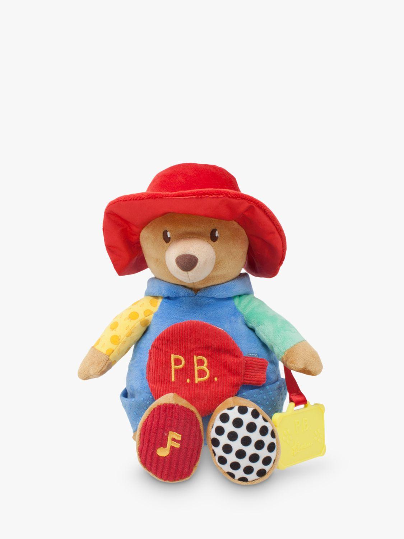 Rainbow Designs Paddington Bear Activity Soft Toy