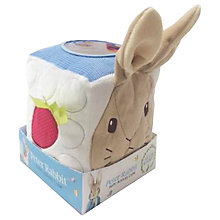 Buy Rainbow Designs Peter Rabbit Activity Cube Online at johnlewis.com