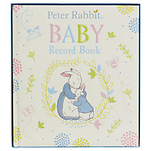 Buy Peter Rabbit Baby Record Book Online at johnlewis.com
