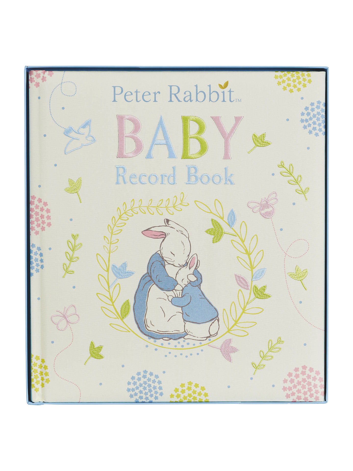 BuyPeter Rabbit Baby Record Book Online at johnlewis.com