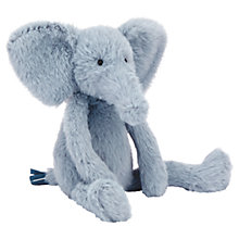 Buy Jellycat Sweetie Elephant Soft Toy, Grey Online at johnlewis.com