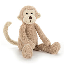 Buy Jellycat Sweetie Monkey Soft Toy, Brown Online at johnlewis.com
