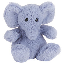 Buy Jellycat Poppet Elephant Baby Soft Toy, Grey Online at johnlewis.com