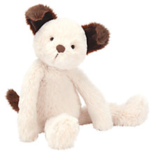 Buy Jellycat Sweetie Puppy Soft Toy, Brown/White Online at johnlewis.com