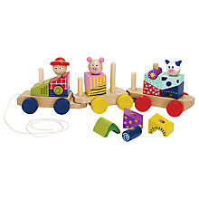 Buy Manhattan Toy Stack & Pull Train Online at johnlewis.com