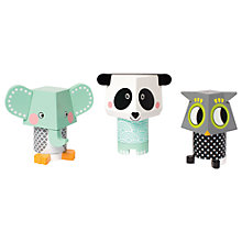 Buy Manhattan Toy Playtime Owl, Elephant and Panda Stackers Online at johnlewis.com