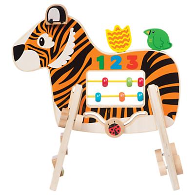 Manhattan Toy Safari Tiger Wooden Activity Toy