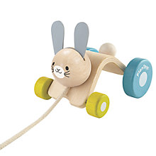Buy Plan Toys Baby Hopping Rabbit, Multi Online at johnlewis.com