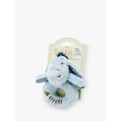 Winnie the Pooh Baby Eeyore Ring Rattle