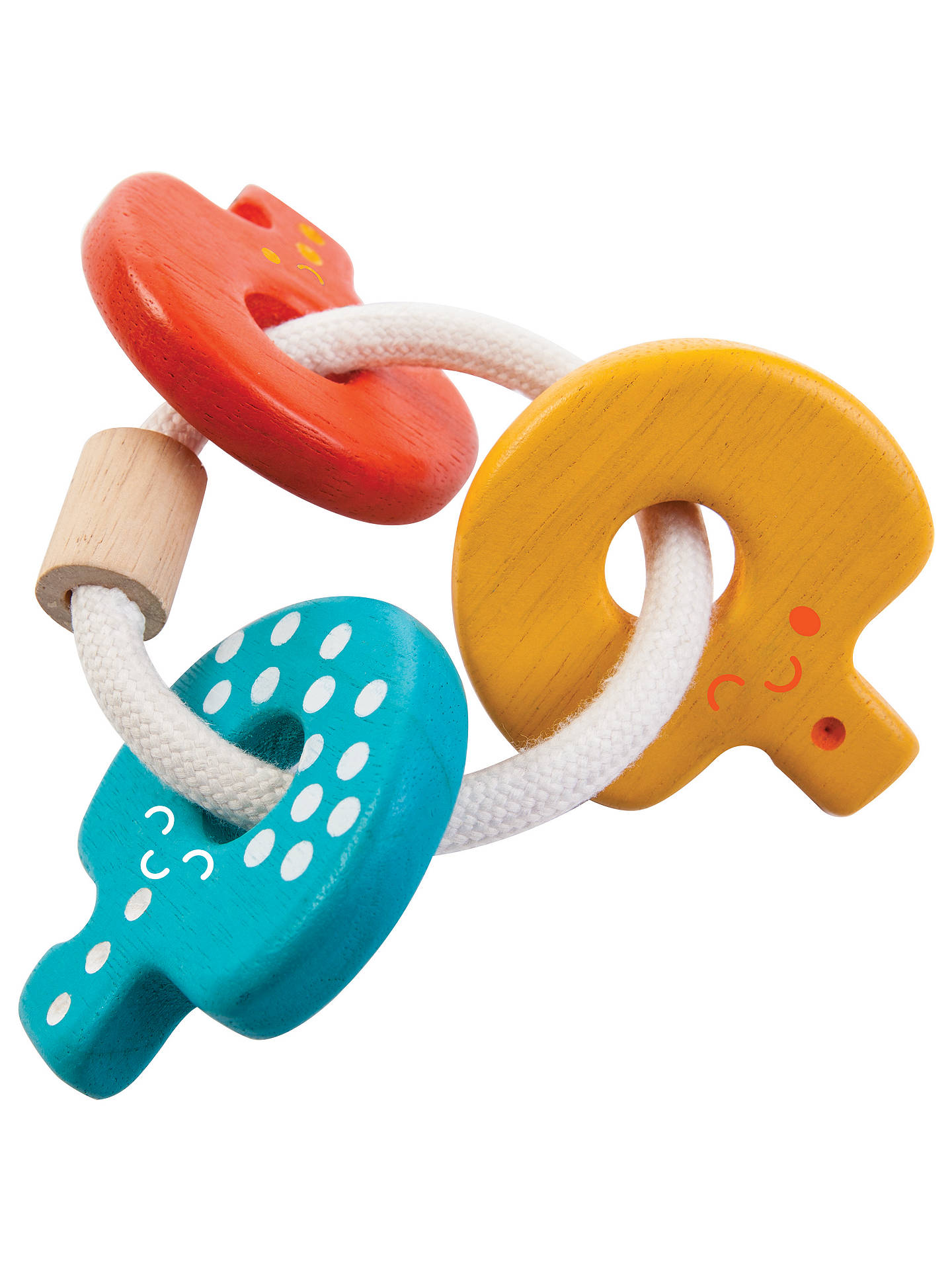 Plan Toys Baby Keys Rattle Toy At John Lewis Partners