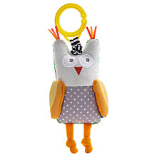 Buy Taf Toys Obi the Owl Baby Activity Toy Online at johnlewis.com