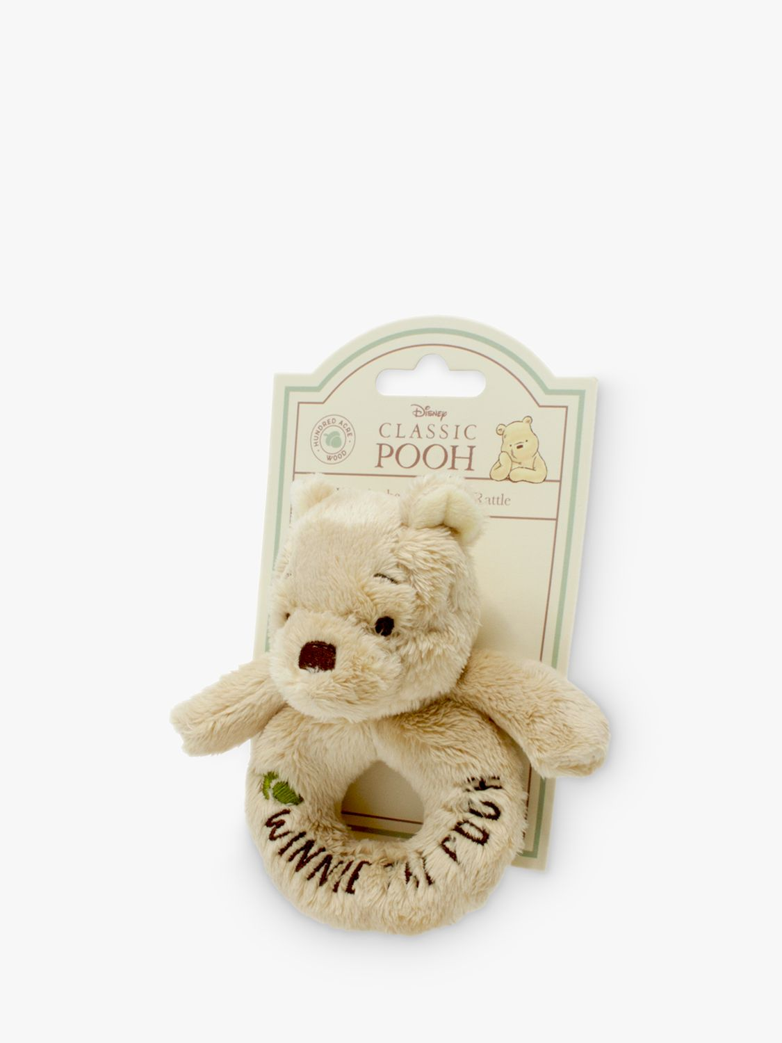 Winnie the pooh Winnie the Pooh Baby Ring Rattle