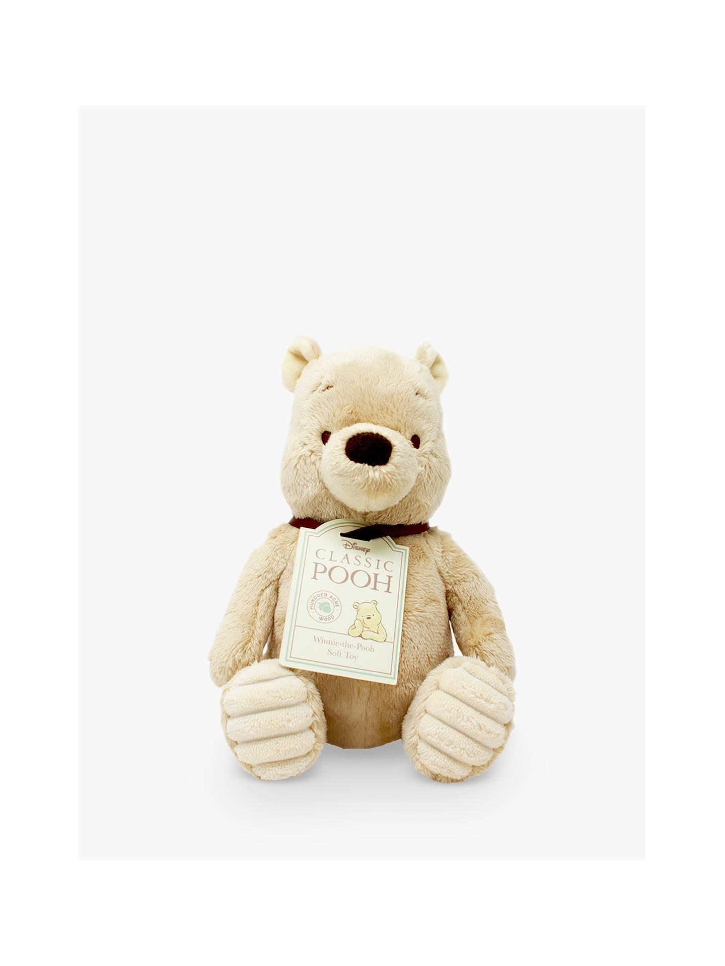 Buy Winnie the Pooh Baby Soft Toy Online at johnlewis.com