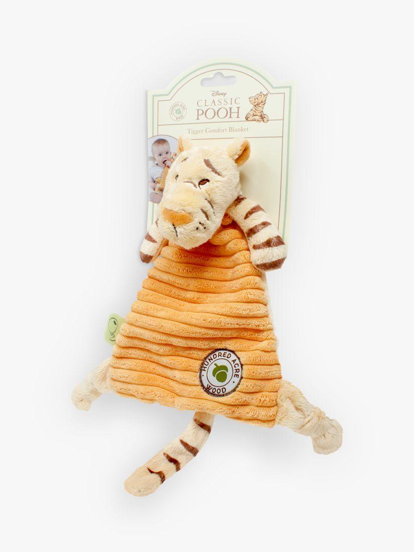 Winnie the pooh Winnie the Pooh Baby Tigger Comfort Blanket, H23cm