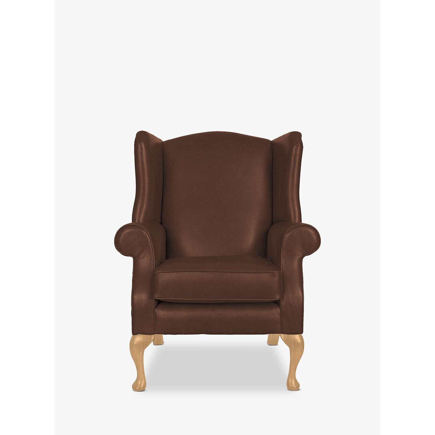 Parker Knoll Oberon Leather Armchair at John Lewis
