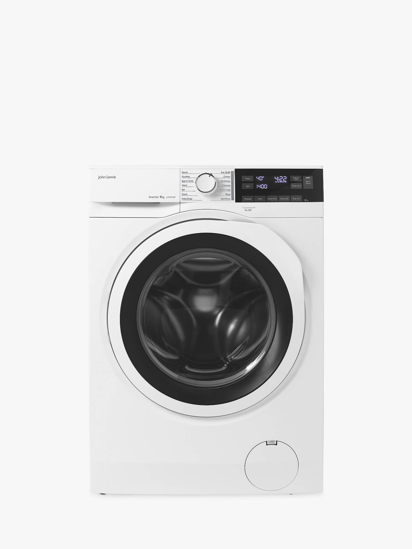 fa6ec87df43 Buy John Lewis   Partners JLWM1437 Freestanding Washing Machine