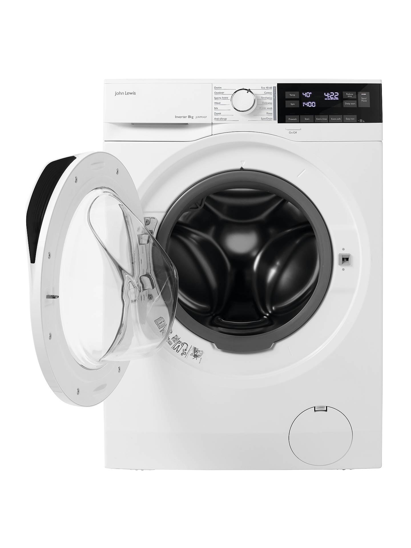 Verwonderlijk John Lewis & Partners JLWM1437 Freestanding Washing Machine, 8kg RM-49