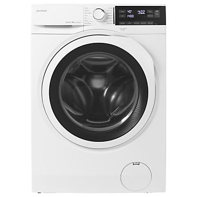 John Lewis JLWM1427 Washing Machine, 8kg Load, A+++ Energy Rating, 1400rpm Spin, White