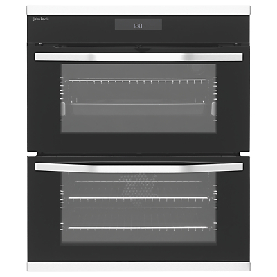 John Lewis & Partners JLBIDU731X Built-Under Double Oven, Stainless Steel