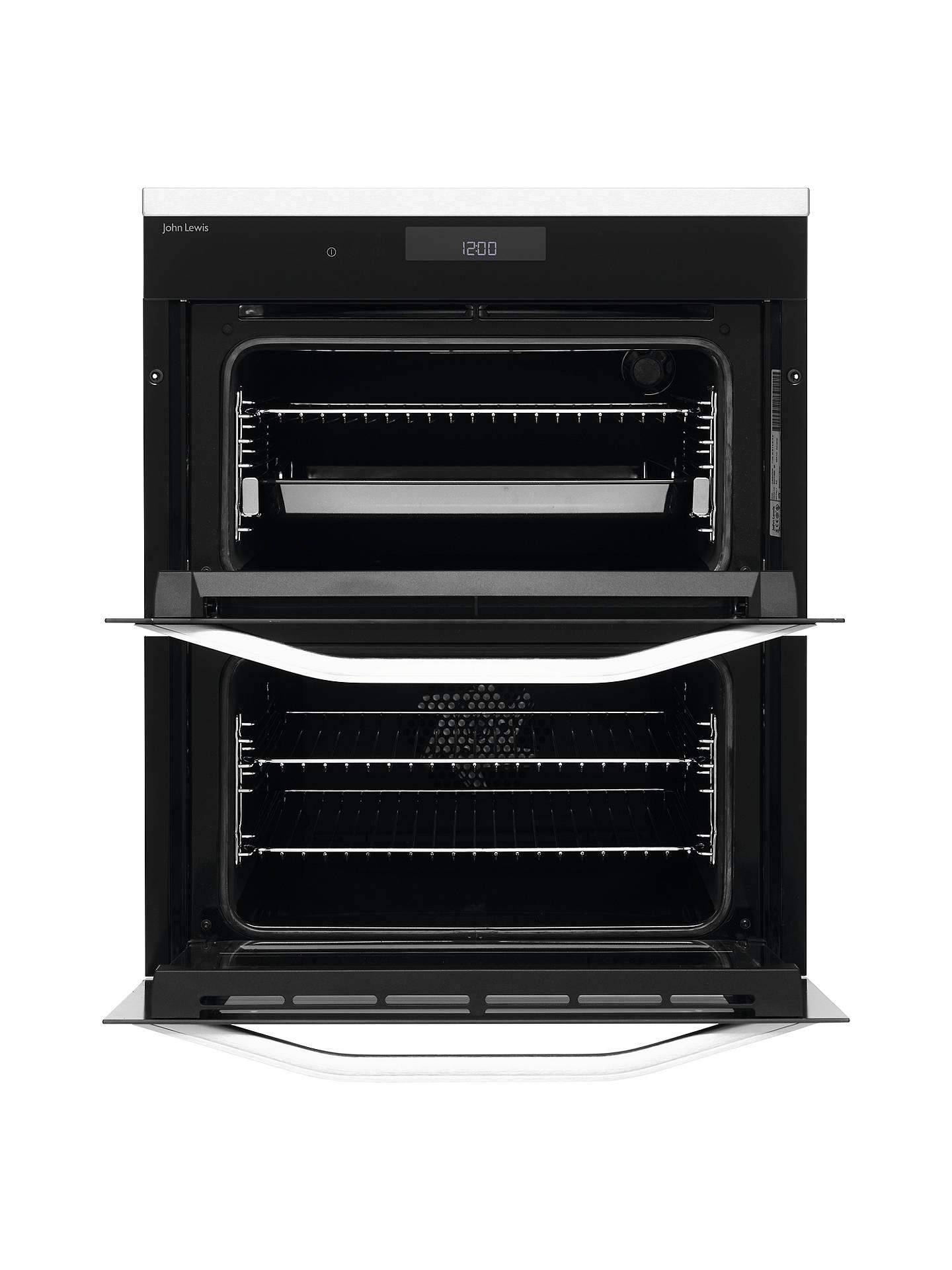 john lewis partners jlbidu731x built under double oven. Black Bedroom Furniture Sets. Home Design Ideas