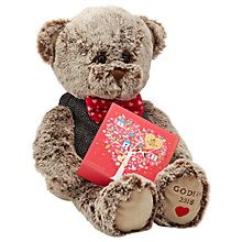 Buy Godiva Valentine's Plush Bear 2018 with Chocolates Online at johnlewis.com