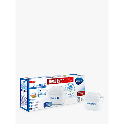Brita Maxtra+ Universal Water Filter Cartridge, Pack of 3