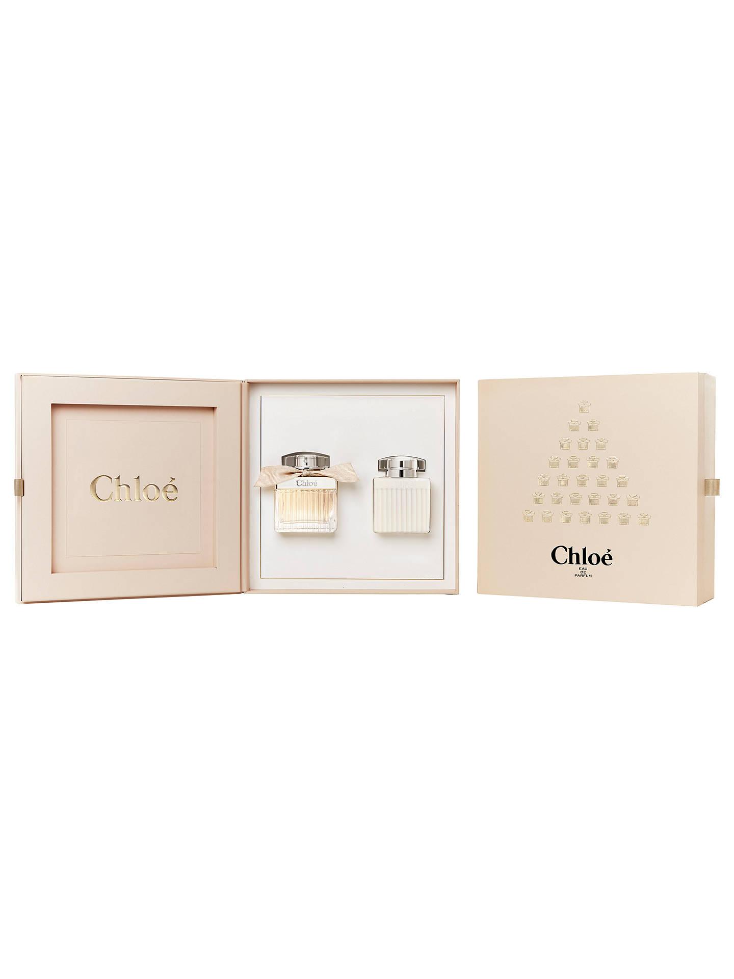 58580657252 Buy Chloé 50ml Eau de Parfum Fragrance Gift Set Online at johnlewis.com