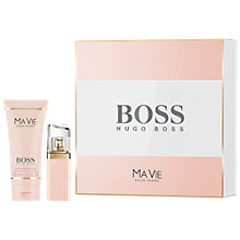 Buy HUGO BOSS BOSS Ma Vie 30ml Eau de Parfum Fragrance Gift Set Online at johnlewis.com