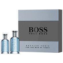 Buy HUGO BOSS BOSS Bottled Tonic 100ml Eau de Toilette Fragrance Gift Set Online at johnlewis.com