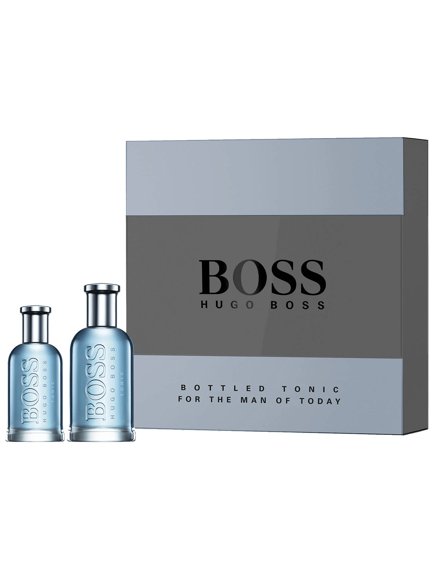12e71c7615 Buy HUGO BOSS BOSS Bottled Tonic 100ml Eau de Toilette Fragrance Gift Set  Online at johnlewis