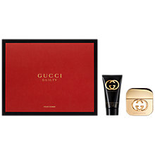 Buy Gucci Guilty 30ml Eau de Toilette Fragrance Gift Set Online at johnlewis.com