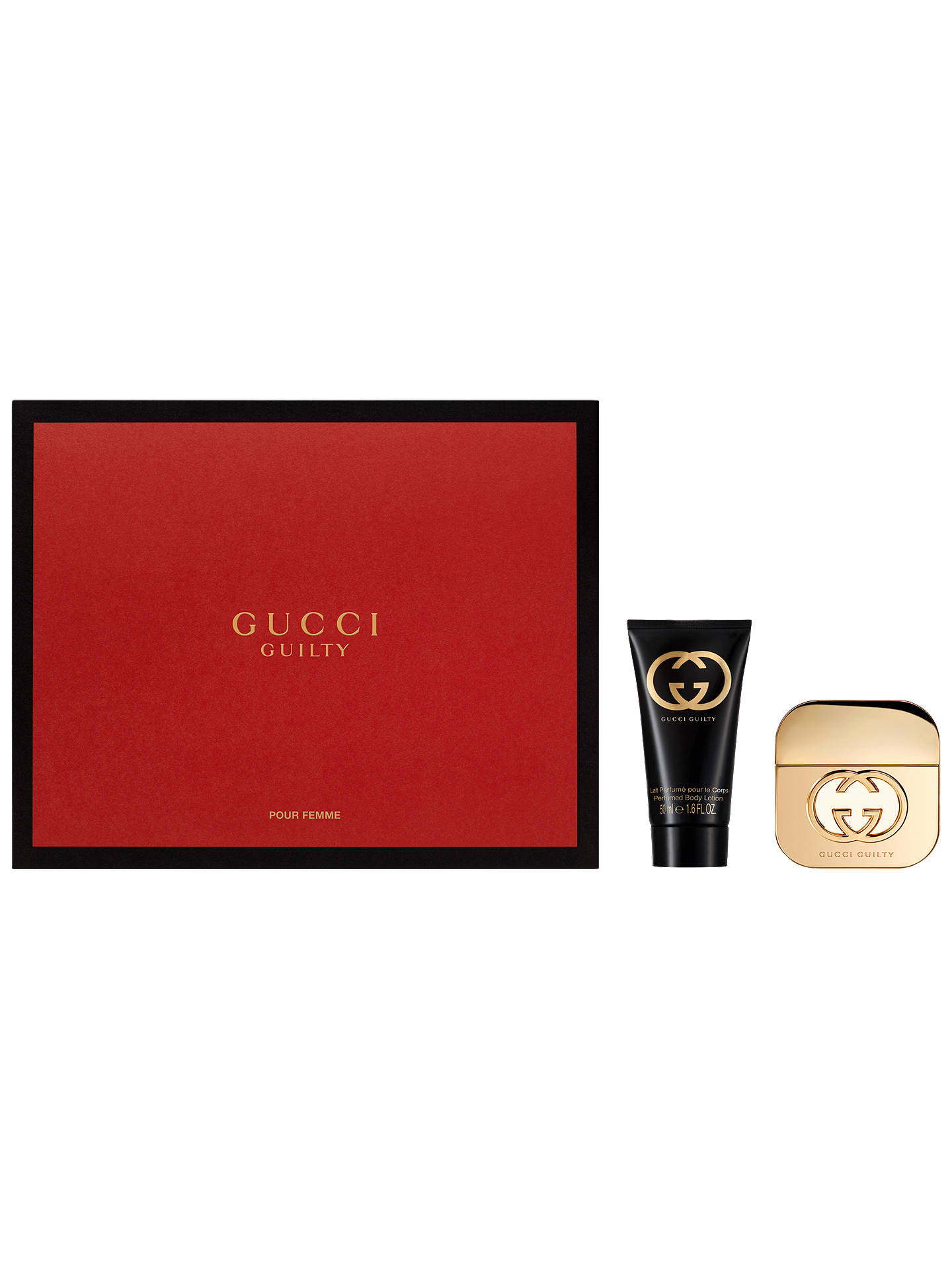 9bd34e3b7 Buy Gucci Guilty 30ml Eau de Toilette Fragrance Gift Set Online at  johnlewis.com
