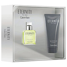 Buy Calvin Klein Eternity for Men 30ml Eau de Toilette Fragrance Gift Set Online at johnlewis.com