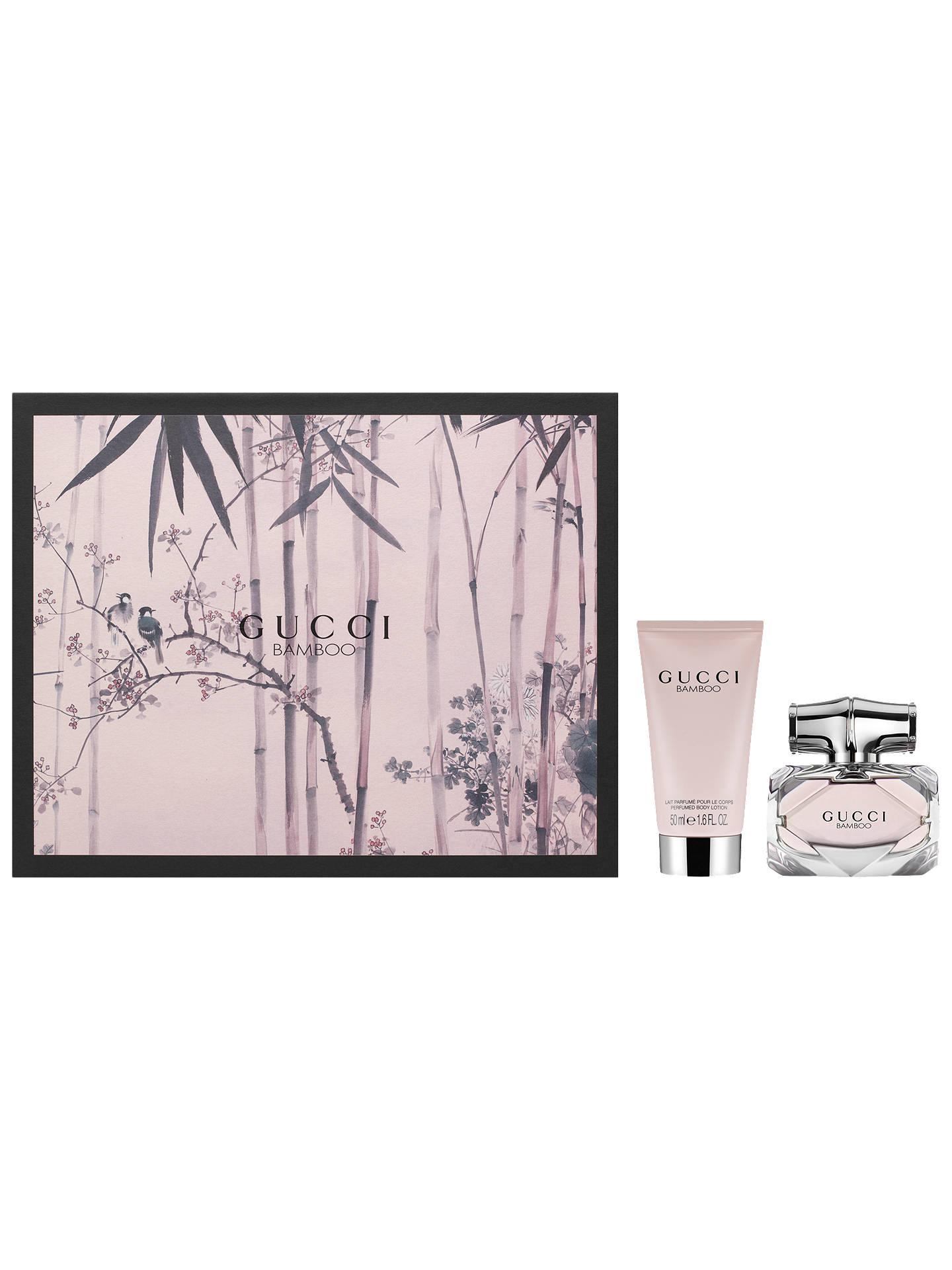 acffe9c2d Buy Gucci Bamboo 30ml Eau de Parfum Fragrance Gift Set Online at  johnlewis.com