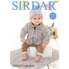 Buy Sirdar Snuggly Squishy Jacket and Accessories Patterns 4850 Online at johnlewis.com