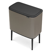 Buy Brabantia Bo Touch Bin, 3 x 11L Online at johnlewis.com