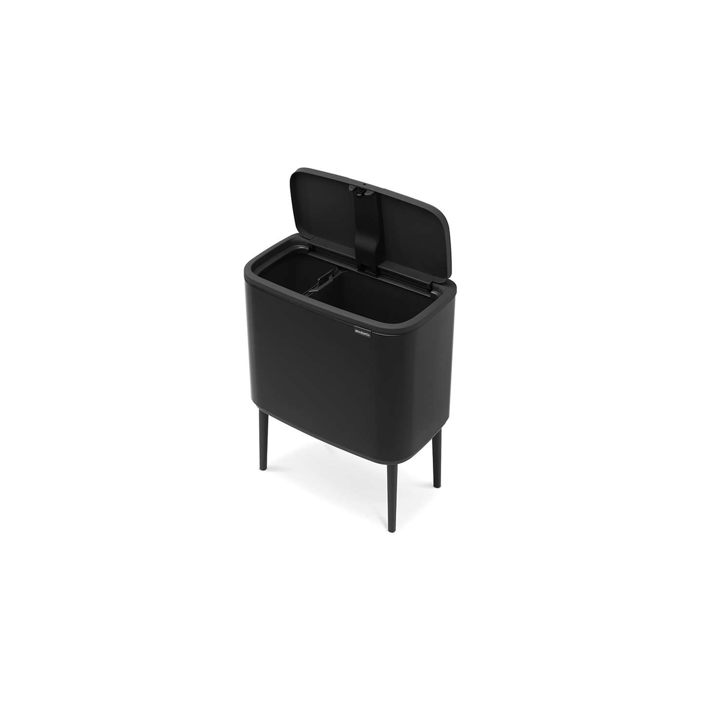 BuyBrabantia Bo Touch Bin, 11L & 23L, Black Online at johnlewis.com