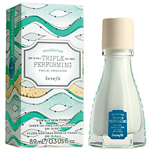 Buy Benefit Triple Performing Facial Emulsion SPF15 PA++ , Mini, 8.9ml Online at johnlewis.com