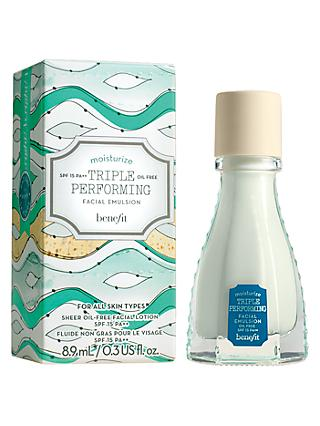 Benefit Triple Performing Facial Emulsion SPF15 PA++ , Mini, 8.9ml