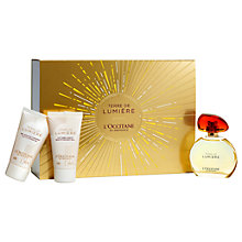 Buy L'Occitane Terre de Lumière 50ml Eau de Parfum Fragrance Gift Set Online at johnlewis.com