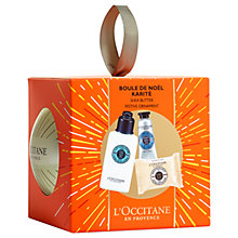 Buy L'Occitane Shea Butter Bauble Body Gift Set Online at johnlewis.com