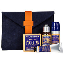 Buy L'Occitane Men's Grooming Collection Online at johnlewis.com
