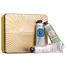 Buy L'Occitane Hand Cream Trio Collection Online at johnlewis.com